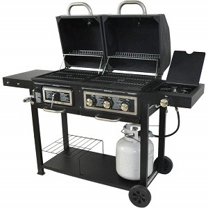 Dual Fuel Combination Charcoalgas Grill Review